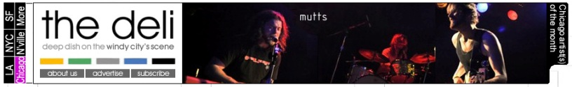 Mutts Chicago Artist of the Month on the Deli