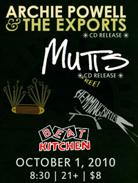 Mutts at Beat Kitchen in Chicago