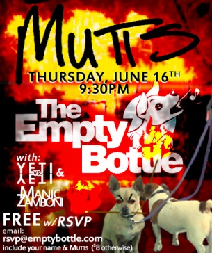 Mutts at Empty Bottle in Chicago