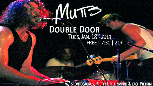 Mutts at Double Door in Chicago