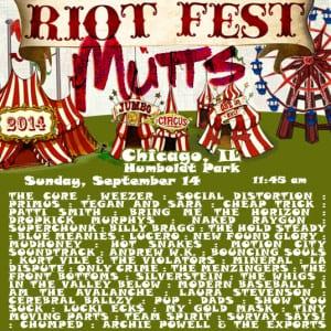 Riot Fest! 9/14