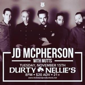Durty Nellie's w/ JD McPherson