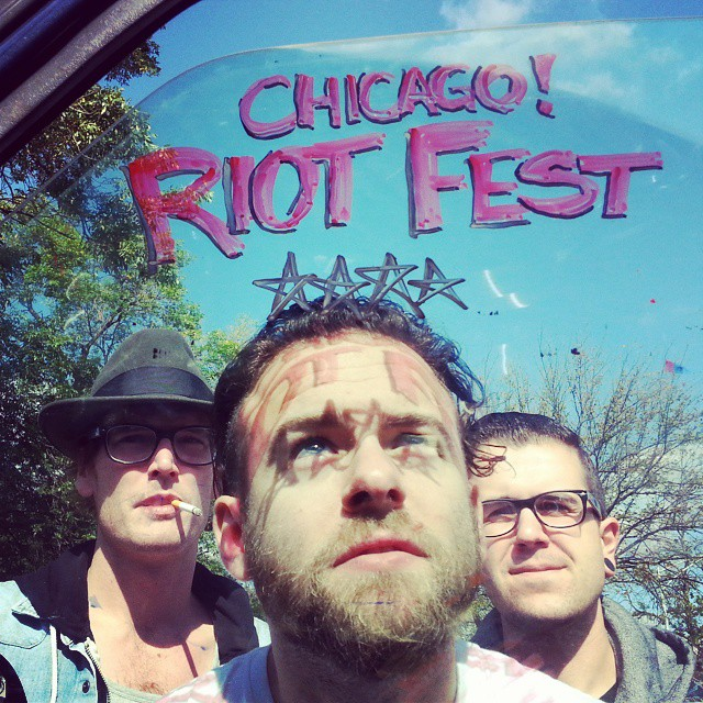 Beautiful day for a @riot_fest! Radical Stage 12:30 @redbullchi