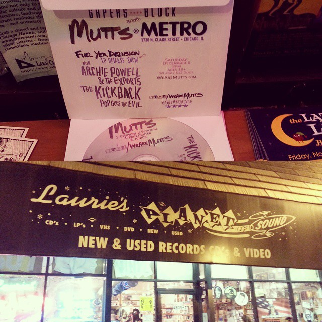 Grab a free CD at @lauriesplanetofsound & tix to the release at http://tinyurl.com/nsghktb