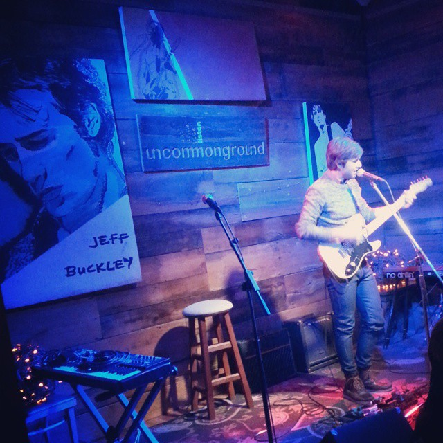 Stanton from @santahhhh making us all feel feelings at the Uncommon Ground Jeff Buckley tribute.