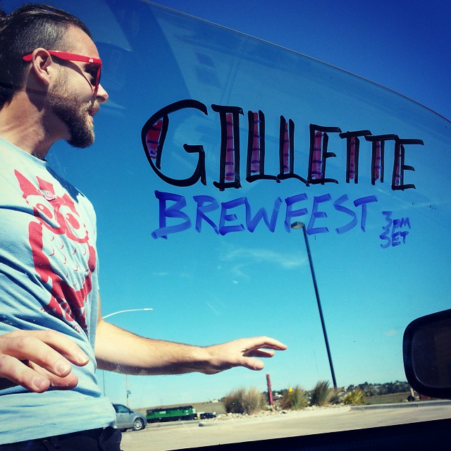 Back in Gillette, Wyoming for Brewfest!